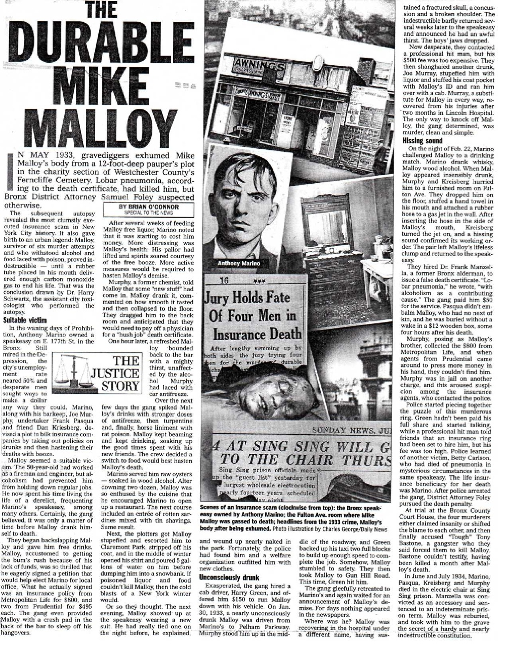 The Durable Mike Malloy